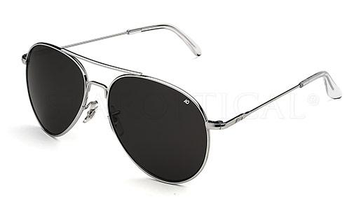 American Optical - GENERAL - MADE IN USA (SILVER POLARIZED) [58-14]