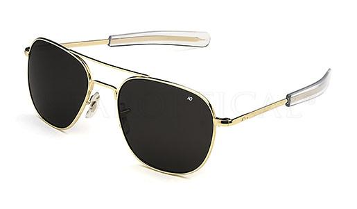 American Optical - ORIGINAL PILOT - MADE IN USA (GOLD POLARIZED) [57-20]