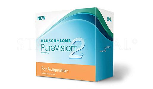 BAUSCH & LOMB - PUREVISION 2 HD FOR ASTIGMATISM (6 PACK)
