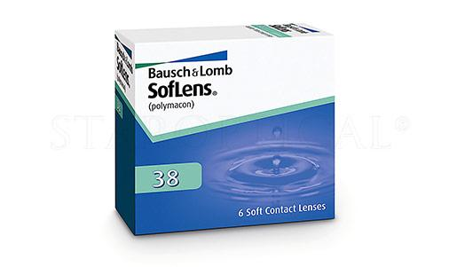 BAUSCH & LOMB - SOFLENS 38 (6 PACK)