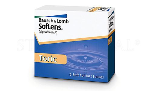 BAUSCH & LOMB - SOFLENS TORIC (6 PACK)