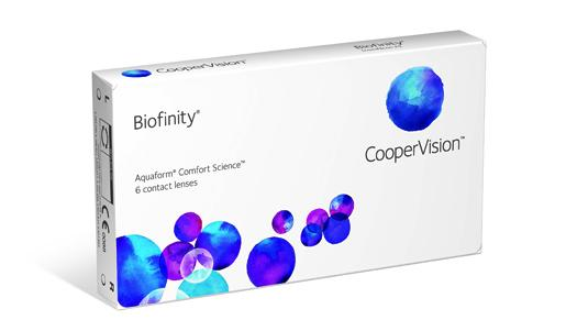 COOPERVISION - BIOFINITY (3 PACK)