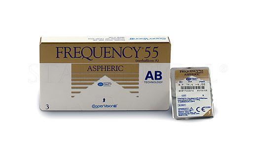 COOPERVISION - FREQUENCY 55 ASPHERIC (3 PACK)
